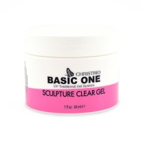 Gel uv BASIC ONE SCULPTURE clear 30 ml CHRISTRIO