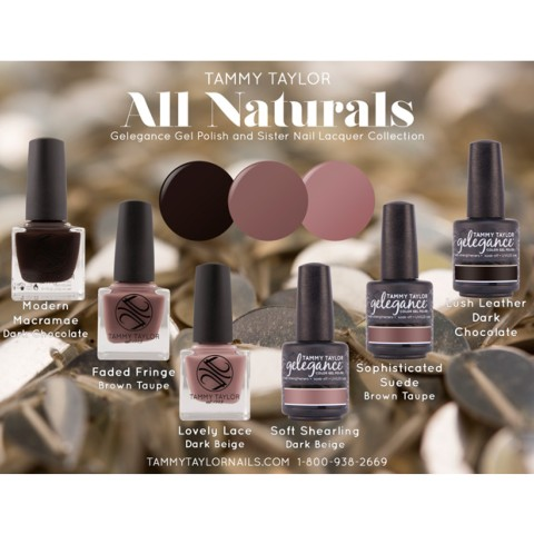 VERNIS A ONGLES FADED FRINGE ALL NATURALS Collection Tammy Taylor