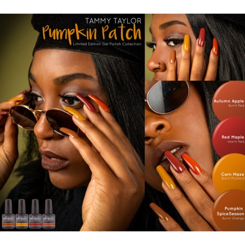 VERNIS SEMI PERMANENT Pumpkin Patch Collection Tammy Taylor
