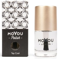 TOP COAT MOYOU SMUDGE RESISTANT 15ML