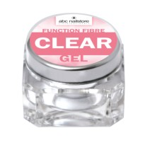 GEL UV FIBRE CLEAR 15gr ABC NAILSTORE