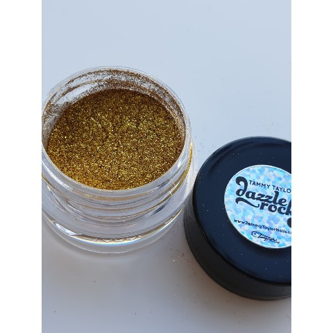 DAZZLING DUST Paillettes fines TAMMY TAYLOR GOLD