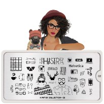 PLAQUE MOYOU COLLECTION HIPSTER 02