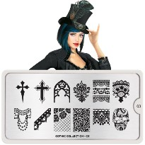 Plaque MOYOU Collection GOTHIC 03