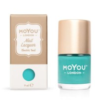 VERNIS STAMPING ELECTRIC TEAL  9ml  MOYOU