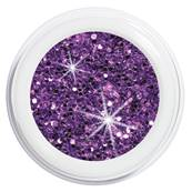 2340-1057 artistgel never without glitter, gamble into violet