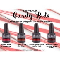 VERNIS SEMI PERMANENT CANDY REDS Collection Tammy Taylor