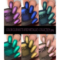 VERNIS SEMI PERMANENT DON'T BE SO DRA-MATTE-IC  COLOR CLUB #1254