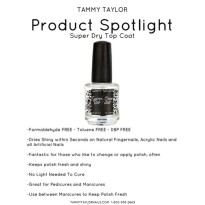 Super Dry Top Coat Tammy TAYLOR
