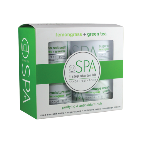 KIT 4 ÉTAPES LEMONGRASS + GREEN TEA BCL FORMAT CABINE