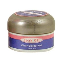 Gel UV Clear soak off Builder 14 gr IBD