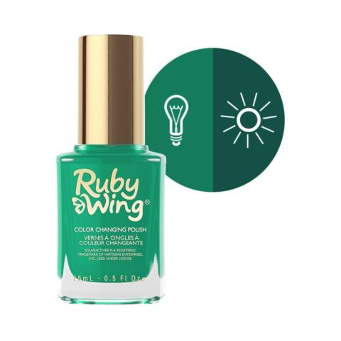 VERNIS A ONGLES CHANGE AU SOLEIL #BEHIND THE BLEACHERS RUBY WING