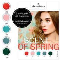 Collection complete SCENT OF SPRING ABC NAILSTORE