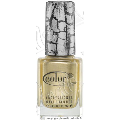 Vernis COLOR CLUB FRACTURED Tattered in Gold