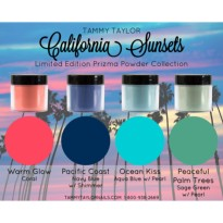POUDRES RESINES ACRYLIQUE CALIFORNIA SUNSETS Collection Tammy Taylor