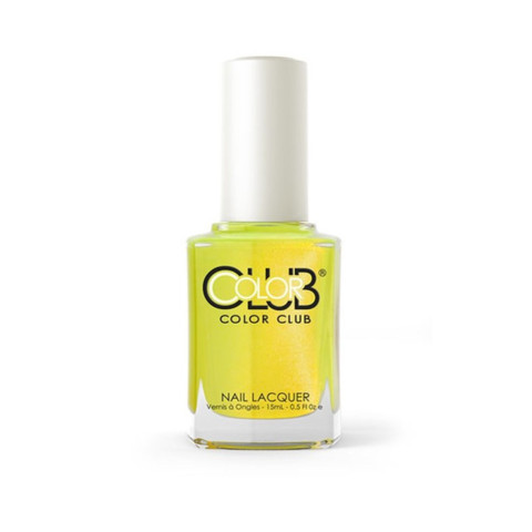 Vernis à ongles COLOR CLUB NOT SO MELLOW YELLOW #AN27 POPTASTIC