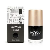 VERNIS STAMPING BLACK KNIGHT 15ml  MOYOU