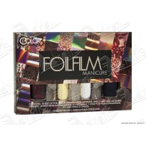 COFFRET DIY Nail Art FOILS MIRROR MIRROR Color Club