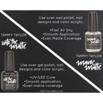 "Top Coat Gel MAT Tammy TAYLOR "" Into The Matte"""