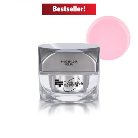 Gel UV LED NEW Pink Builder EF Exclusive 50 ml