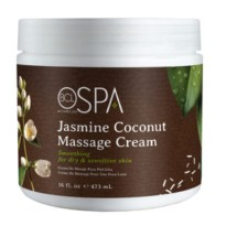 CREME DE MASSAGE JASMIN COCONUT BLANC BCL SPA