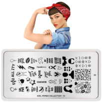Plaque MOYOU Collection GIRL POWER 01