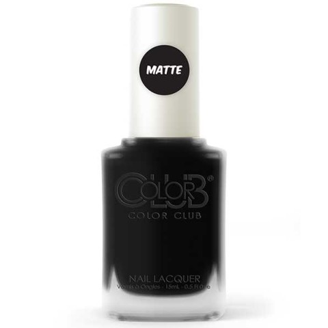 CHALK BOARD BLACK VERNIS A ONGLES COLOR CLUB #MAT #POPTASTIC #NR33