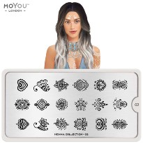 Plaque MOYOU Collection HENNA 02