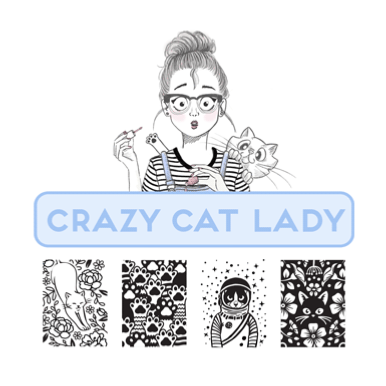 Collection Crazy Cat Lady