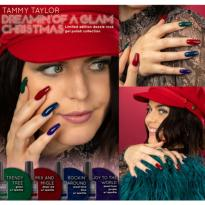 VERNIS SEMI PERMANENT DREAMIN OF A GLAM CHRISTMAS Collection Tammy Taylor