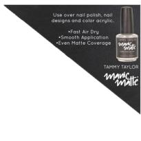 Top Coat VERNIS MAT Tammy TAYLOR