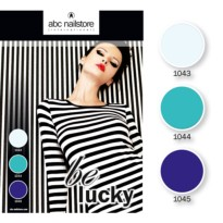 Collection complete BE LUCKY ABC NAILSTORE