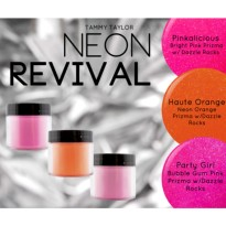 NEON REVIVAL COLLECTION RÉSINE ACRYLIQUE Tammy TAYLOR