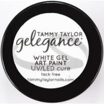 Gelegance Gel Paint WHITE Tammy TAYLOR