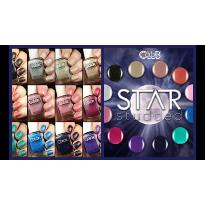 COLLECTION COMPLETE DE VERNIS COLOR CLUB STAR STUDDED