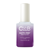 "TOP COAT / BASE COAT MAT ""MATTE-IFIED"" POUR VERNIS A ONGLES COLOR CLUB"