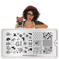 PLAQUE MOYOU COLLECTION HIPSTER 24