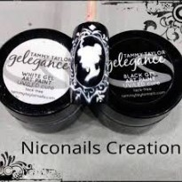 Gelegance Gel Paint BLACK  Tammy TAYLOR