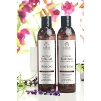 KIT SHAMPOING ET CREME APRES-SHAMPOING  HYDRATATION INTENSE CHEVEUX BCL