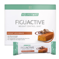 Barres Figu Active Nougat - LOT DE 6, 360 gr